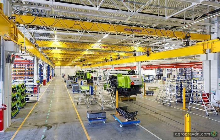 Завод Claas в Краснодаре наращивает производство