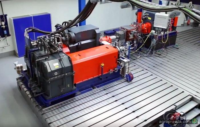 Как создают бесступенчатые КПП для техники CLAAS. Видео