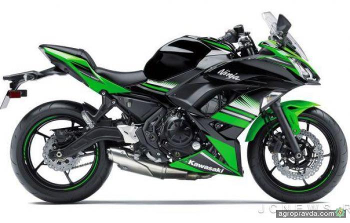 Kawasaki обновила модель Ninja 2017-го года