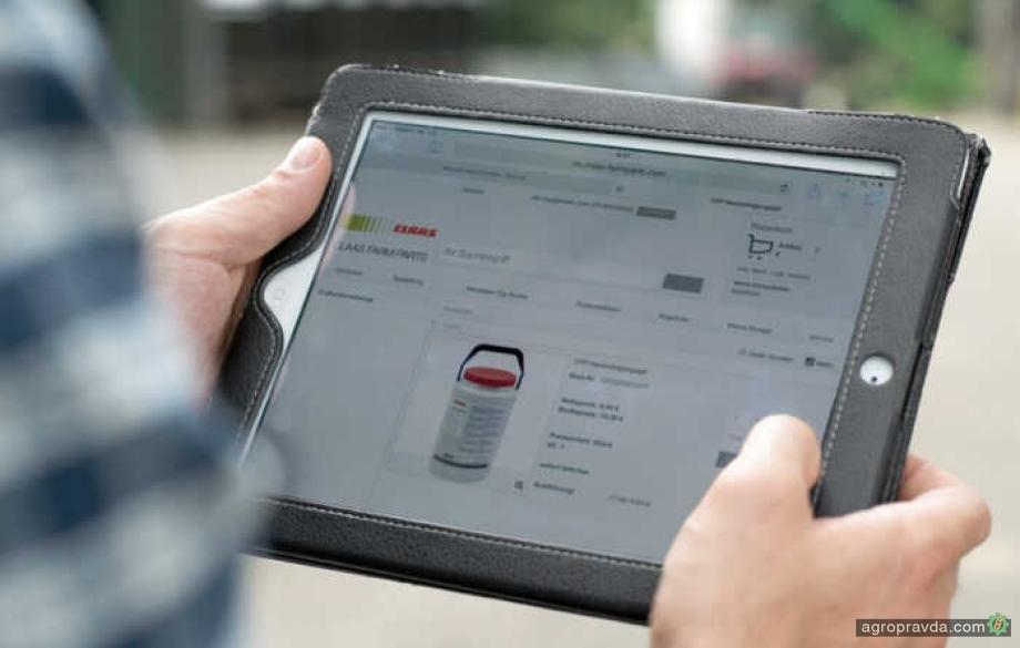 Claas расширил возможности приобретения запчастей