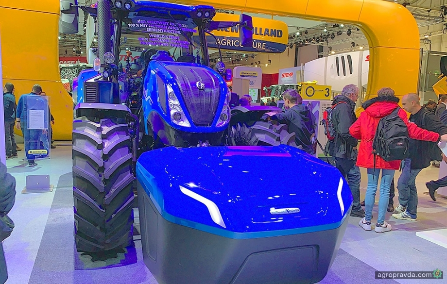 New Holland получил сразу две награды «Трактор года»