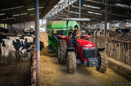 В Киеве состоялась европейская премьера тракторов Massey Ferguson