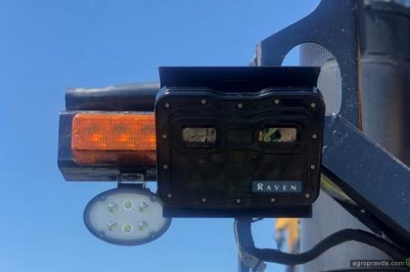 VSN-камера еще на 5% повышает производительность опрыскивателя