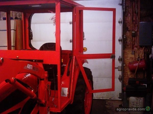 Кабина своими руками на трактор фото