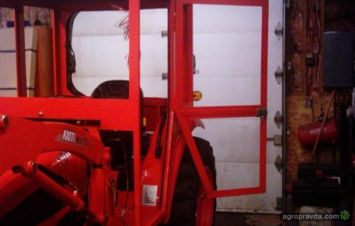 Сделать кабину к трактору