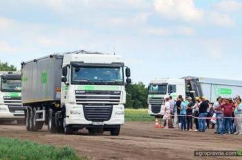 Грузовики DAF выходят на украинские поля