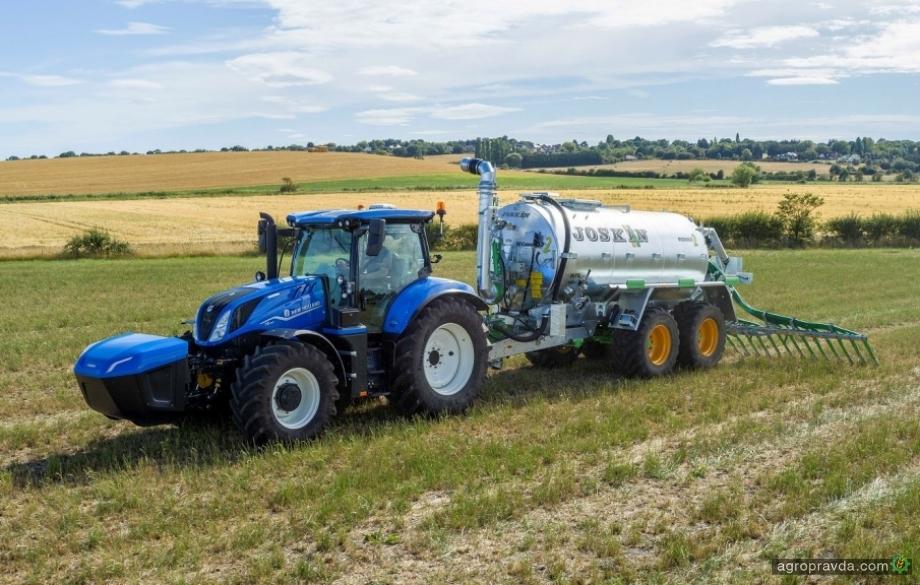 New Holland выводит на рынок трактор на метане