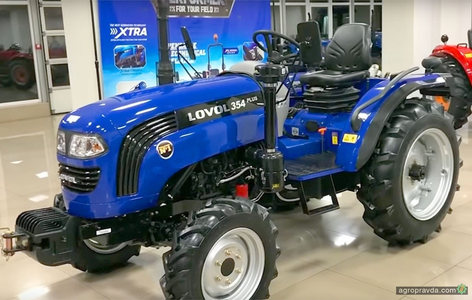В Украине появился новый минитрактор Lovol-354 Plus