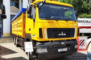 МАЗ в Украине заявил о лидерстве в агросекторе