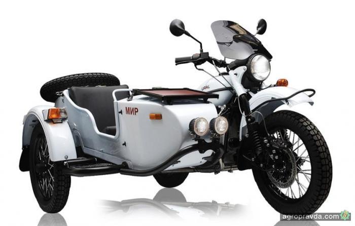 Урал выпустит лимитированную серию космических мотоциклов «Мир»