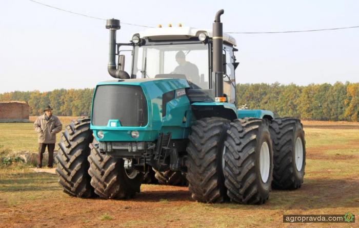 ХТЗ провел испытания тракторов со сдвоенными колесами