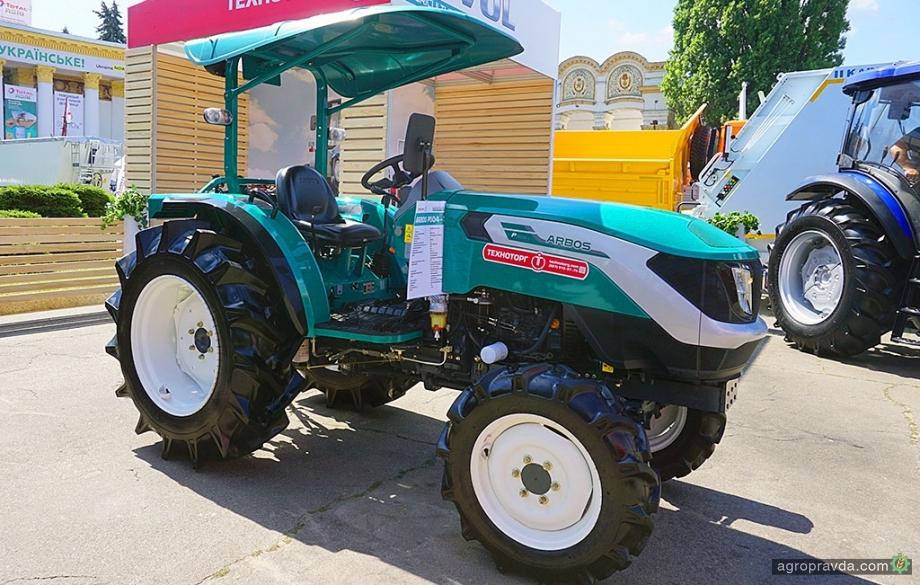 В Украине представили новый итальяно-китайский трактор