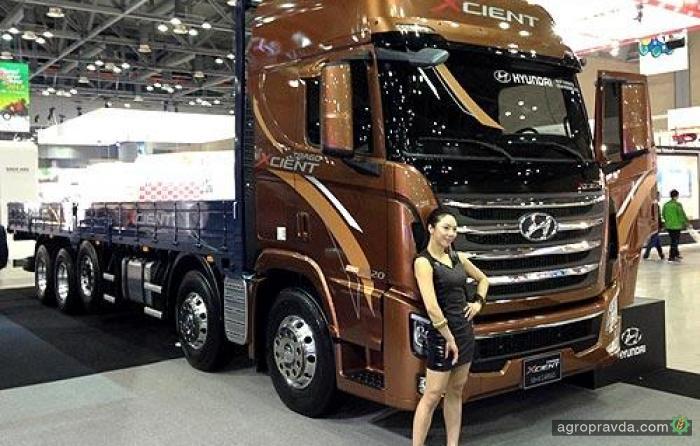 Hyundai начал производство тяжелых грузовиков в Китае