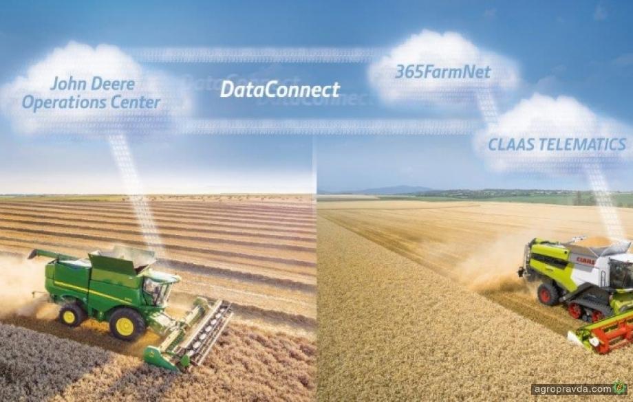 Claas предложил систему объединения техники вне зависимости от брендов