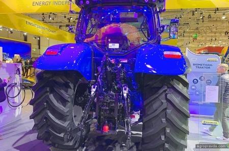 New Holland представил первый в мире серийный метановый трактор T6