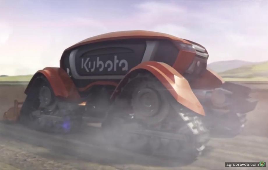 Kubota «засветила» концепт беспилотного трактора