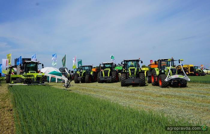 На International Field Days испытали технику Claas