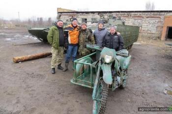 Для украинской армии подготовили специальный кроссовый байк