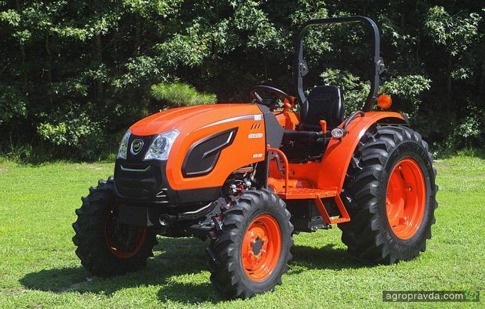 Kioti выводит на рынок обновленную линейку тракторов
