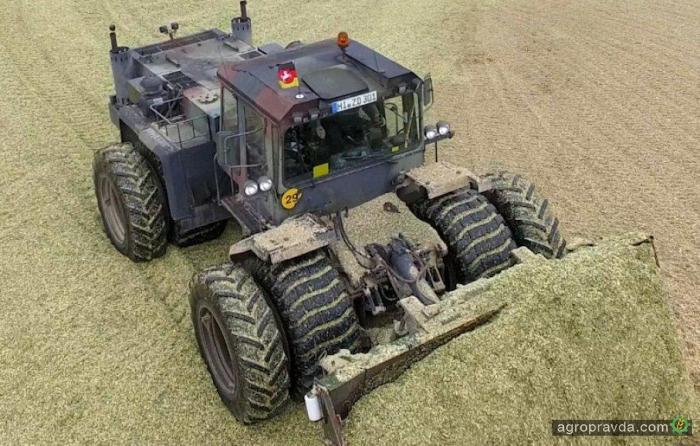 Военная техника нашла применение у аграриев: видео