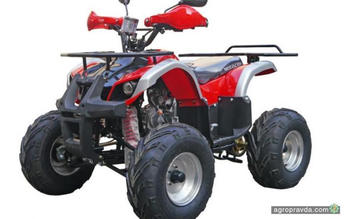 На украинском рынке появилась обновленная модель квадроцикла Hummer