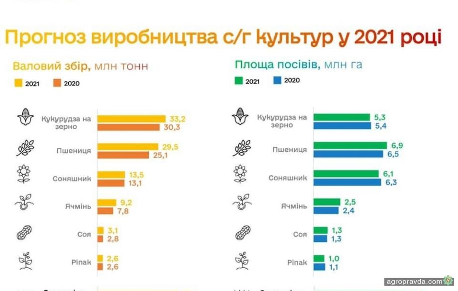 В Украине в этом году ожидается рекордный урожай