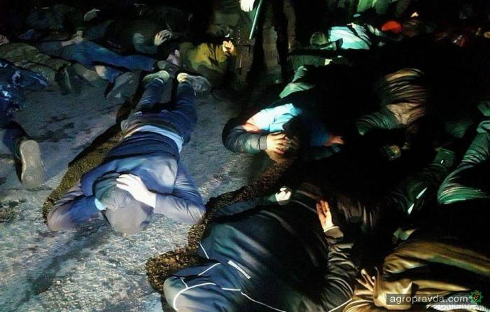 Рейдеров задержали во время попытки захвата агрофирмы