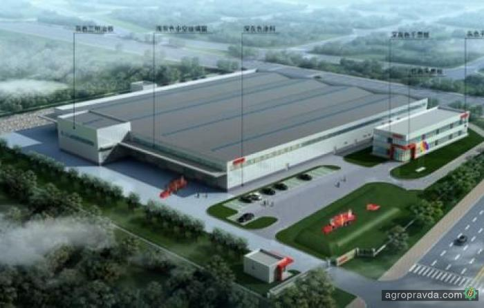 Grimme строит новый завод в Китае