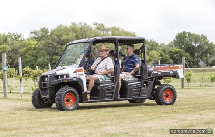 Bobcat выпустил новый фермерский мотовездеход