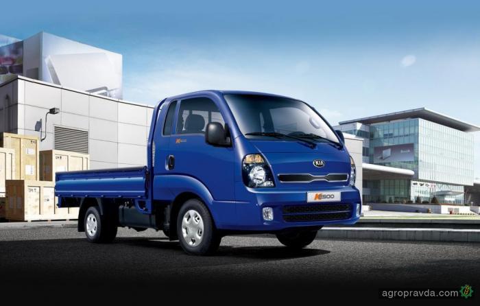 В Украине стартуют продажи легкого грузовика Kia К2500