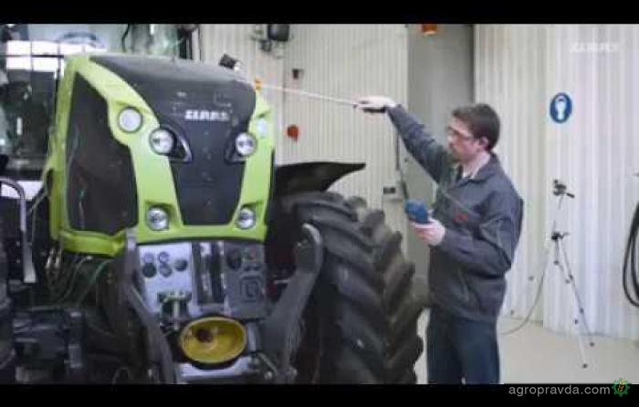 Как создают трактора CLAAS. Видео