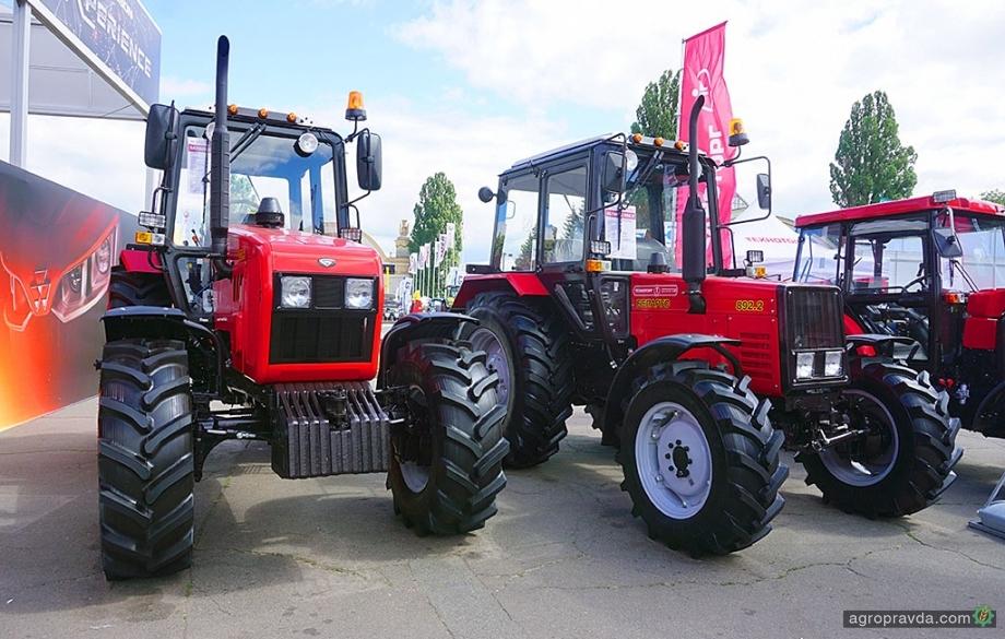 Украинцы стали покупать больше тракторов МТЗ