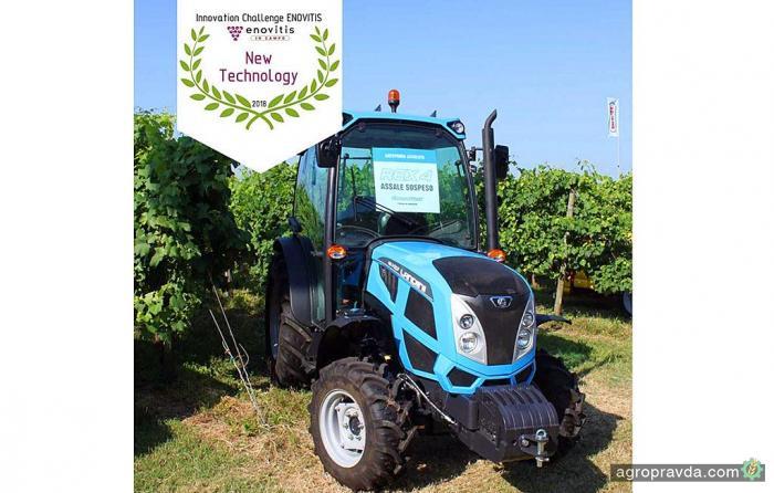 Трактор Landini получил новую премию за инновации