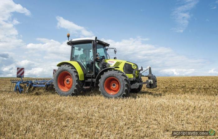 Трактор Claas Atos выходит на европейский рынок