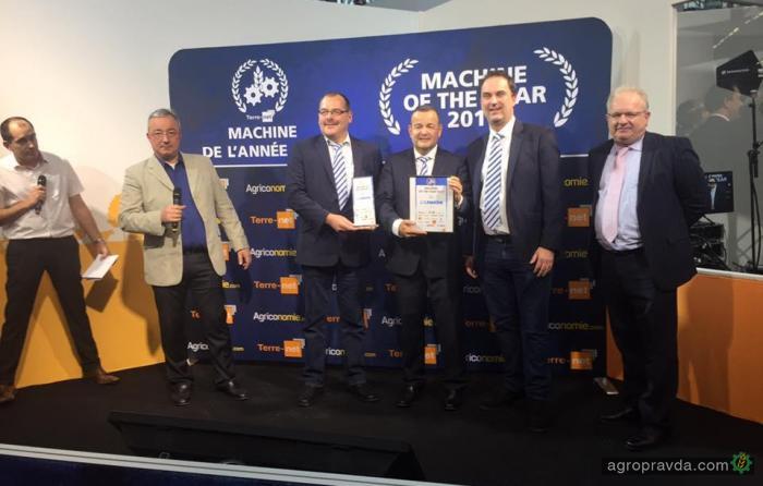 Lemken Karat 12 получил титул «Машина года»