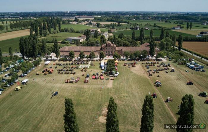 Maschio Gaspardo провела фестиваль исторических тракторов. Фото