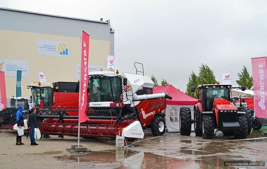 Versatile на Agro Expo 2020 представил комбайн Nova 340