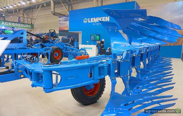 Lemken покажет более 20 единиц техники на SIMA