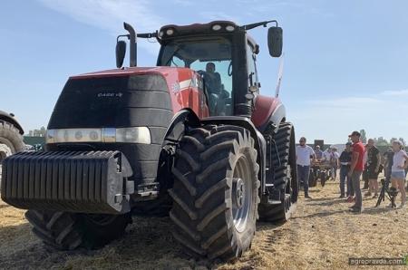 TITAN MACHINERY продемонстрировала агрегаты для обработки почвы в Киевской области