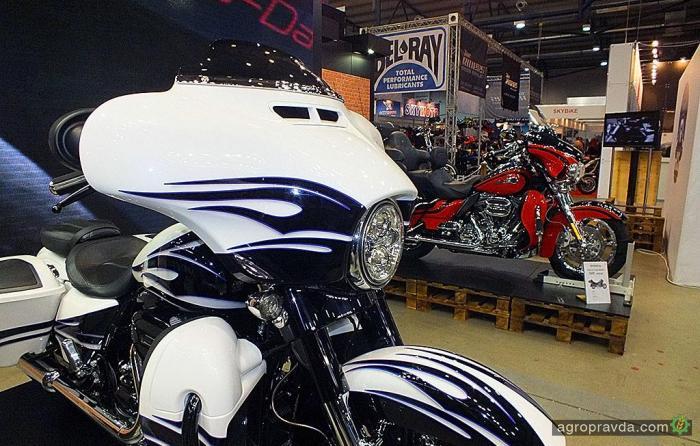 Украинский рынок мототехники за 2016 год сократился на 7%