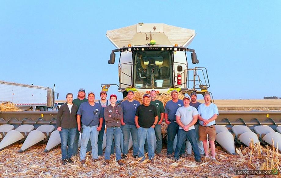 Claas Lexion 8600TT установил рекорд уборки урожая