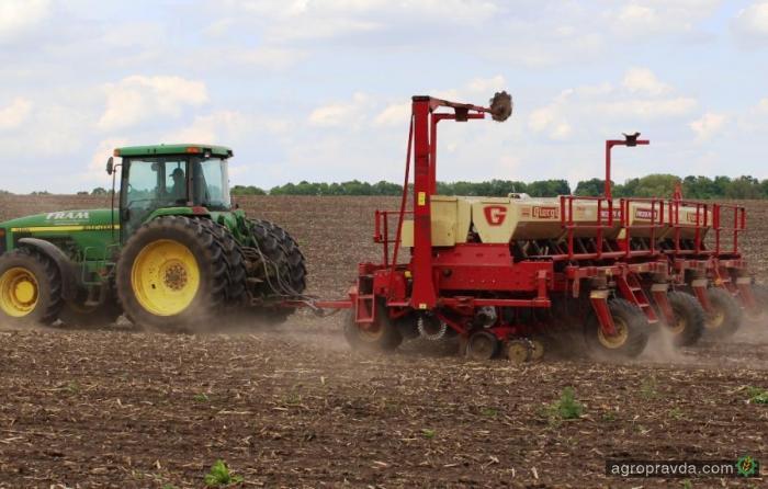 Яровые зерновые и зернобобовые посеяны на 3,5 млн. га