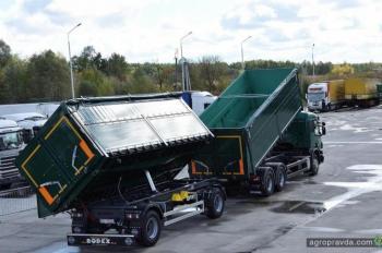 Scania подготовила аграрный самосвальный автопоезд для Украины