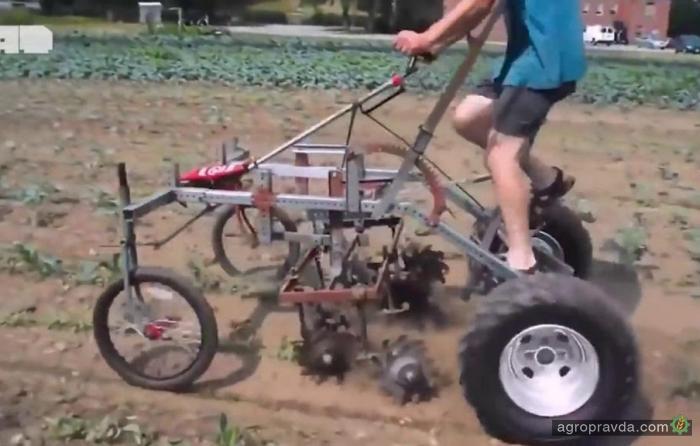 Самодельная сельхозтехника. Видео