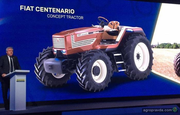 К 100-летию первого трактора New Holland подготовил концепт и спецсерию