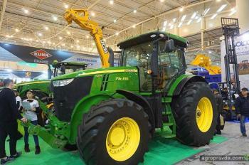 Какие тракторы представили к весне в Киеве