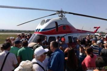Первый украинский вертолет получит сельскохозяйственную модификацию