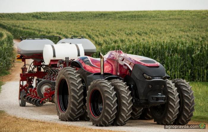 Автономный трактор Case IH получил медаль «За инновации»