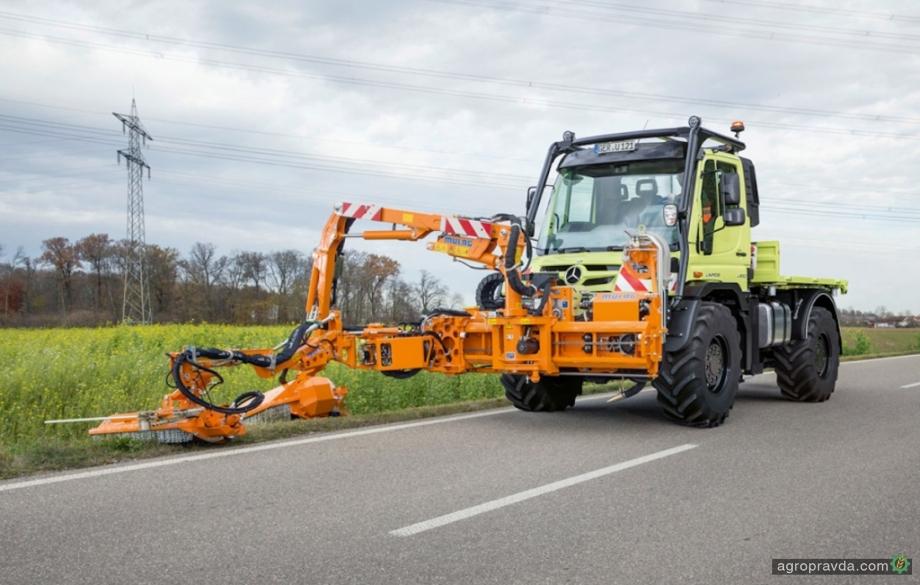 Mercedes-Benz Unimog возвращается в сельское хозяйство