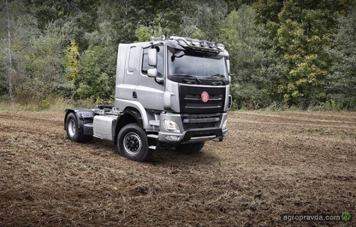 Tatra представит новый «Татрактор»